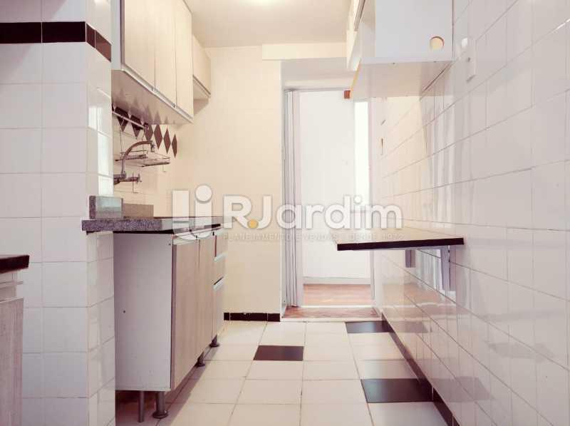 cozinha - apartamento com 2 quartos, frente, jardim botanico - LAAP21656 - 12