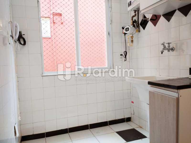 area de serviço - apartamento com 2 quartos, frente, jardim botanico - LAAP21656 - 11