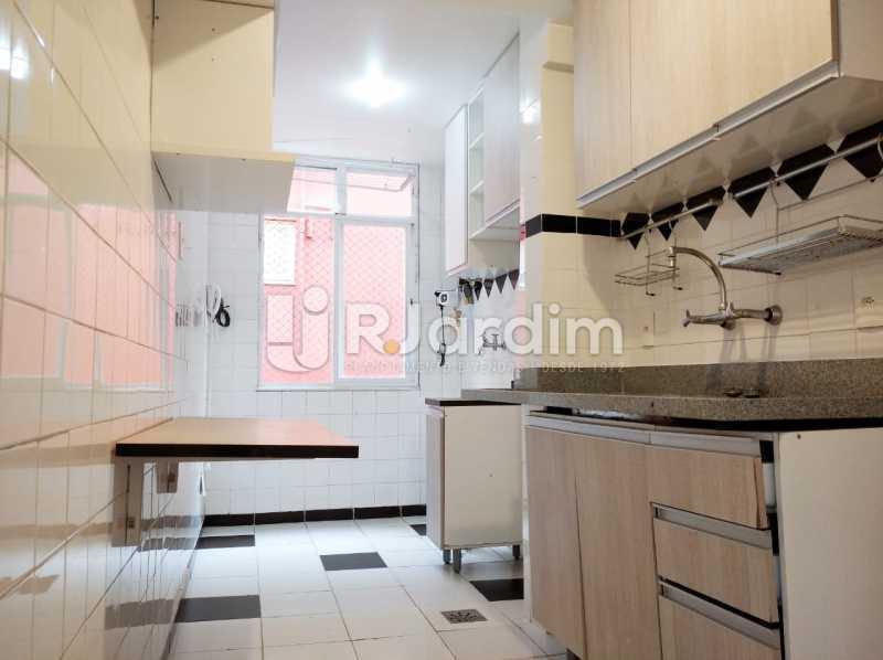 cozinha - apartamento com 2 quartos, frente, jardim botanico - LAAP21656 - 10