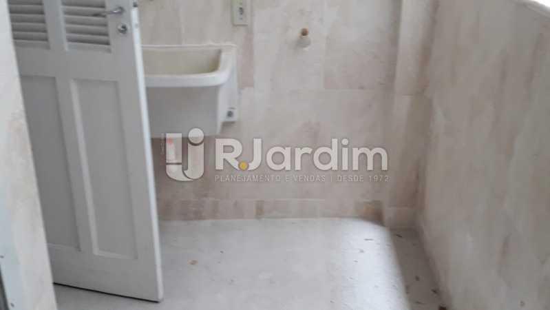 Área com Dep. Completas - Apartamento Lagoa 2 Quartos Aluguel - LAAP21657 - 17