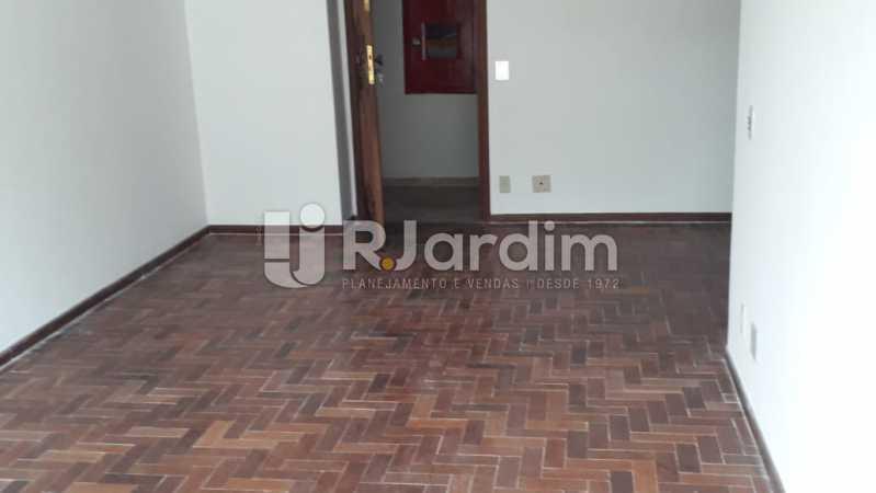 Sala de estar - Apartamento Lagoa 2 Quartos Aluguel - LAAP21657 - 4