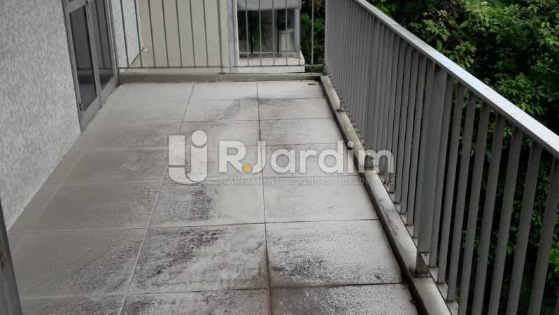 Varanda Acesso Sala/Suíte - Apartamento Lagoa 2 Quartos Aluguel - LAAP21657 - 3
