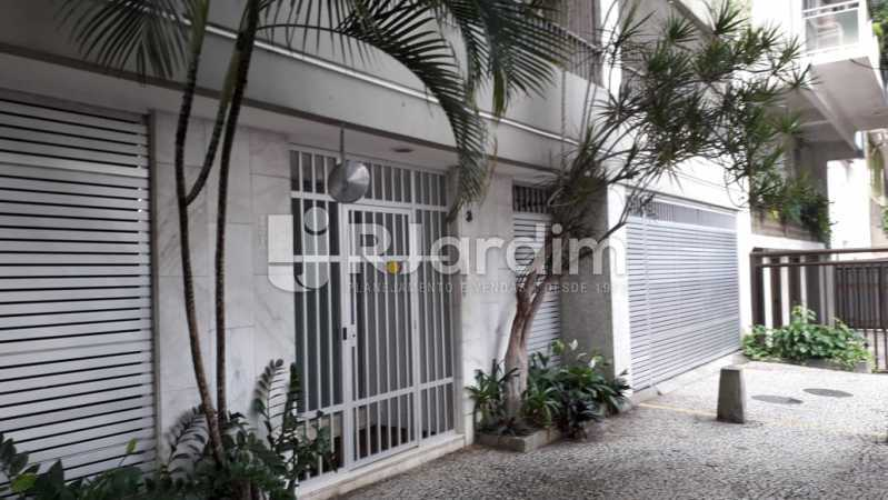 Fachada do Prédio - Apartamento Lagoa 2 Quartos Aluguel - LAAP21657 - 24