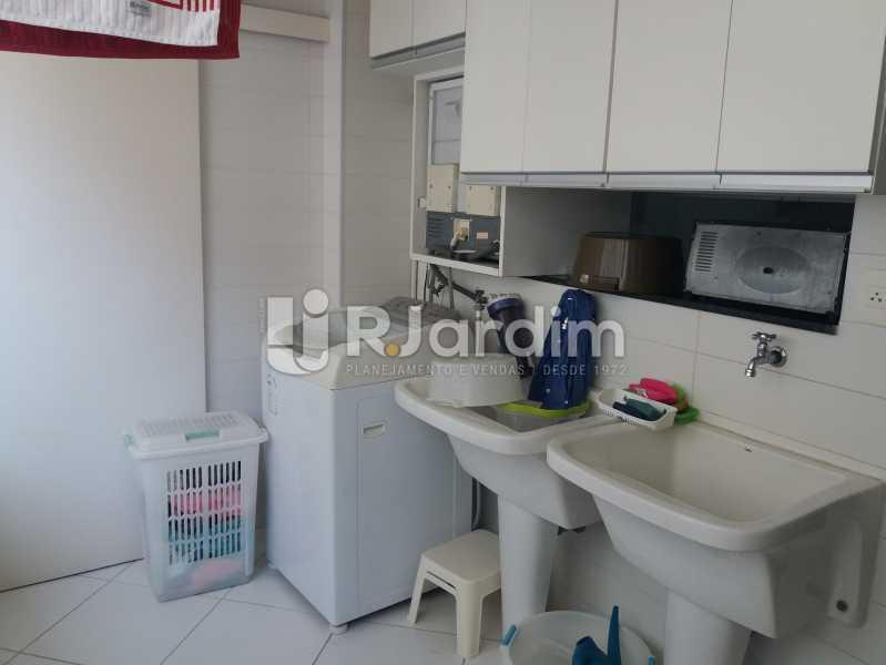 Área - Apartamento Leblon 4 Quartos - LAAP40842 - 27