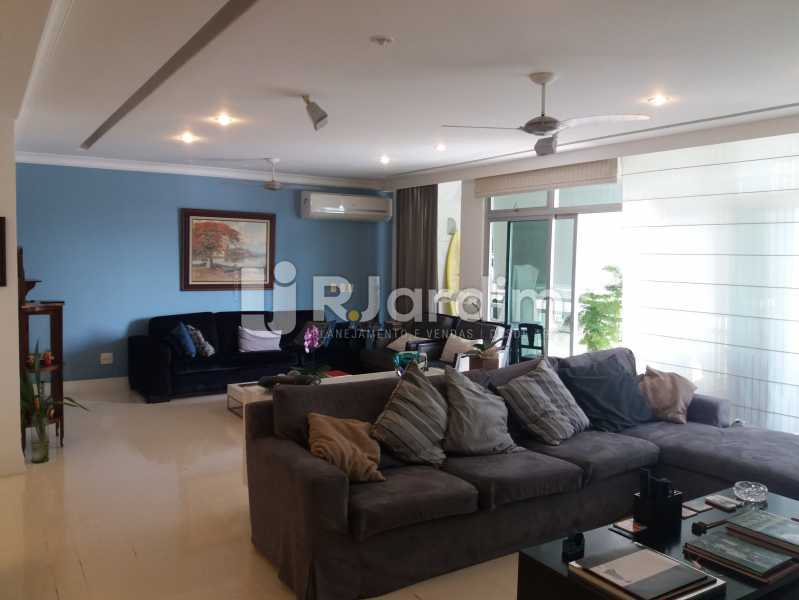 Living - Apartamento Leblon 4 Quartos - LAAP40842 - 7