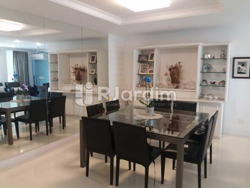 Sala jantar - Apartamento Leblon 4 Quartos - LAAP40842 - 3