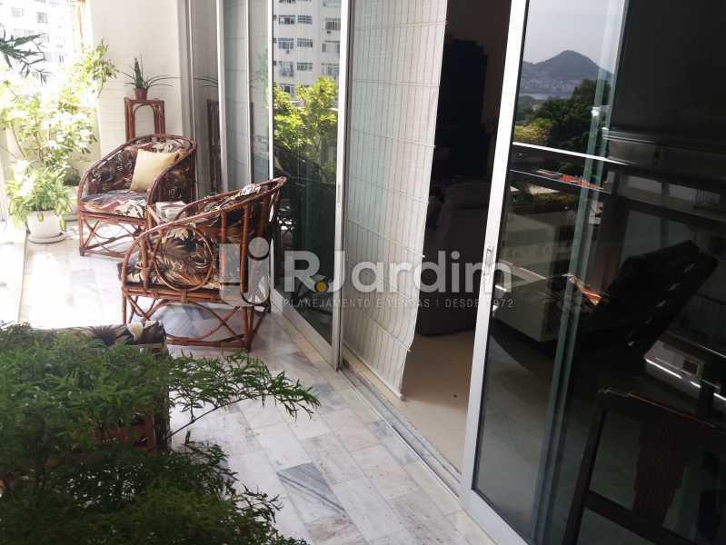 Varanda - Apartamento Leblon 4 Quartos - LAAP40842 - 1