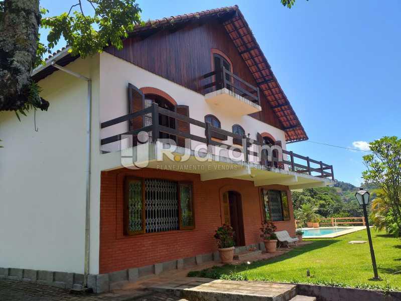 FRENTE DA CASA - Casa em Condomínio Quitandinha Petrópolis - LACN50013 - 1