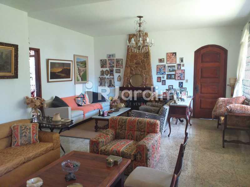 SALA DE ESTAR DETALHE 1 - Casa em Condomínio Quitandinha Petrópolis - LACN50013 - 6