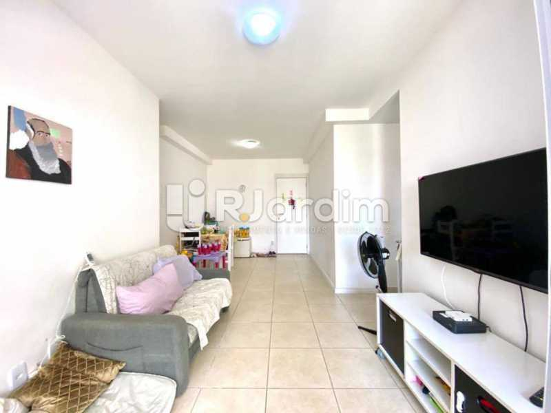 sala - Apartamento À Venda Avenida Vice Presidente Jose Alencar,Barra da Tijuca, Zona Oeste - Barra e Adjacentes,Rio de Janeiro - R$ 520.000 - LAAP21663 - 6