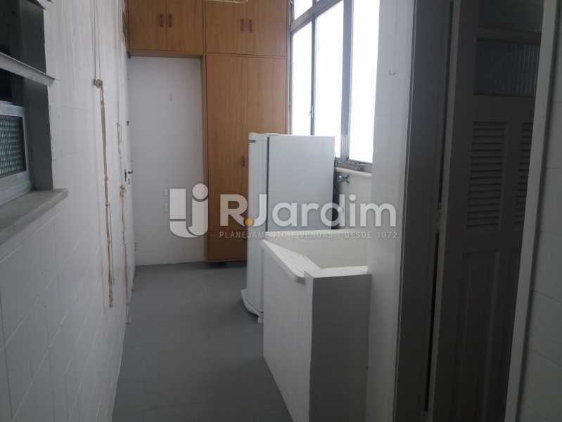 Área - Apartamento Leblon 3 Quartos - LAAP32324 - 16