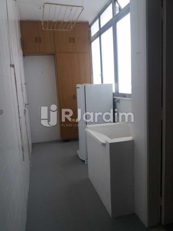 Área - Apartamento Leblon 3 Quartos - LAAP32324 - 19