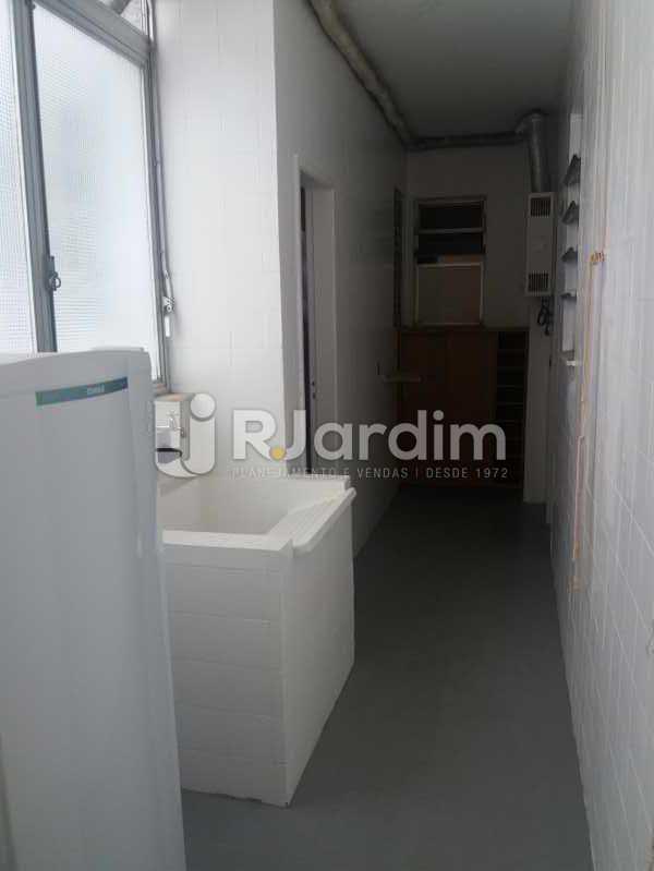 Área - Apartamento Leblon 3 Quartos - LAAP32324 - 21