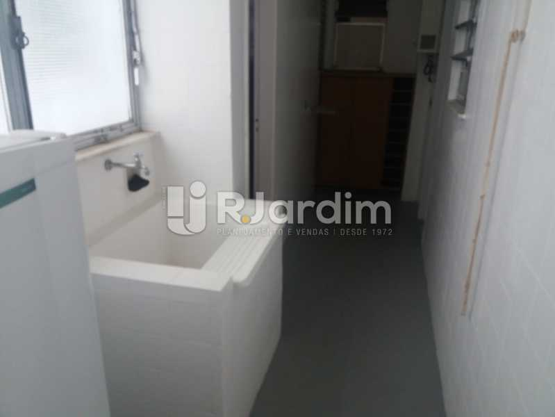 Área - Apartamento Leblon 3 Quartos - LAAP32324 - 17