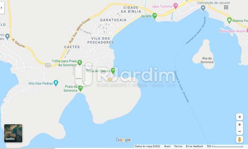 Mapa da região - Terreno Angra dos Reis - LAUF00013 - 3