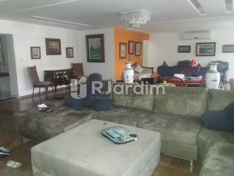 Sala, 1º piso - Casa Gávea, Zona Sul,Rio de Janeiro, RJ À Venda, 7 Quartos, 900m² - LACA70001 - 1