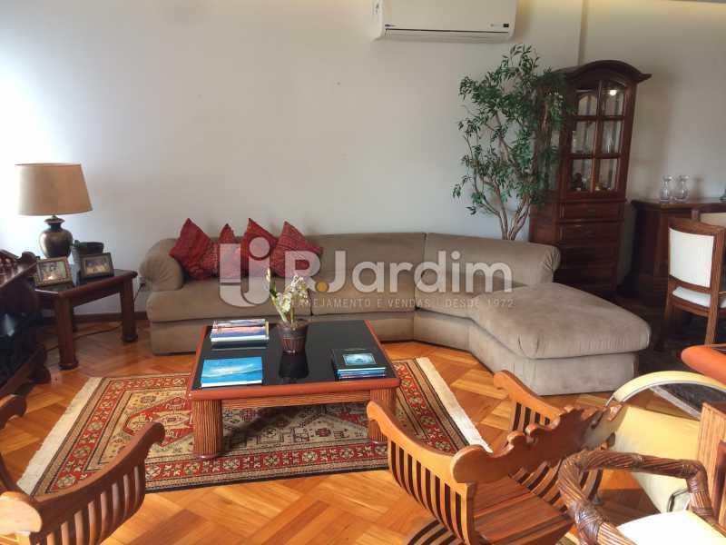 Sala de estar - Apartamento Leblon 3 Quartos - LAAP32338 - 6