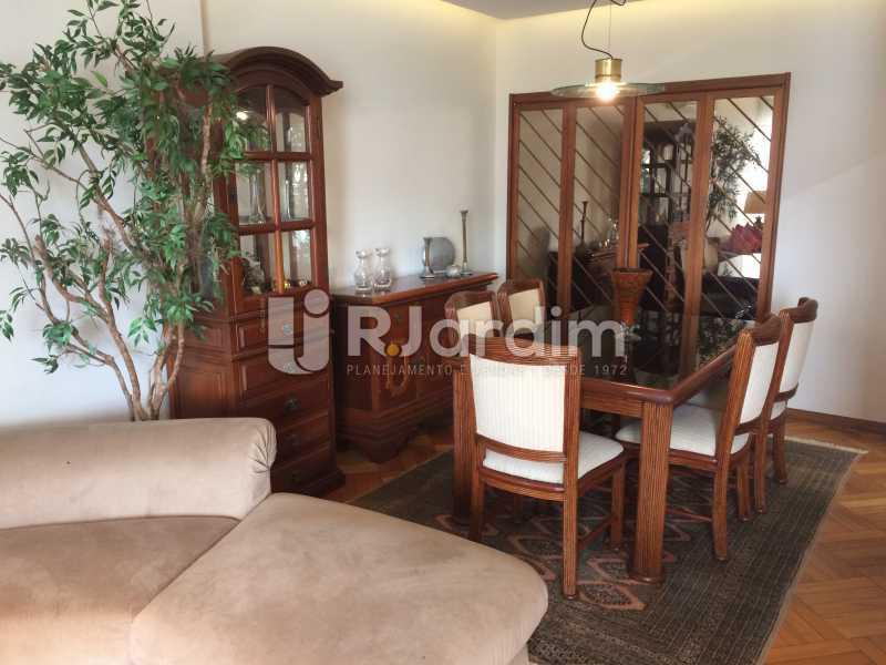 Sala de jantar - Apartamento Leblon 3 Quartos - LAAP32338 - 7