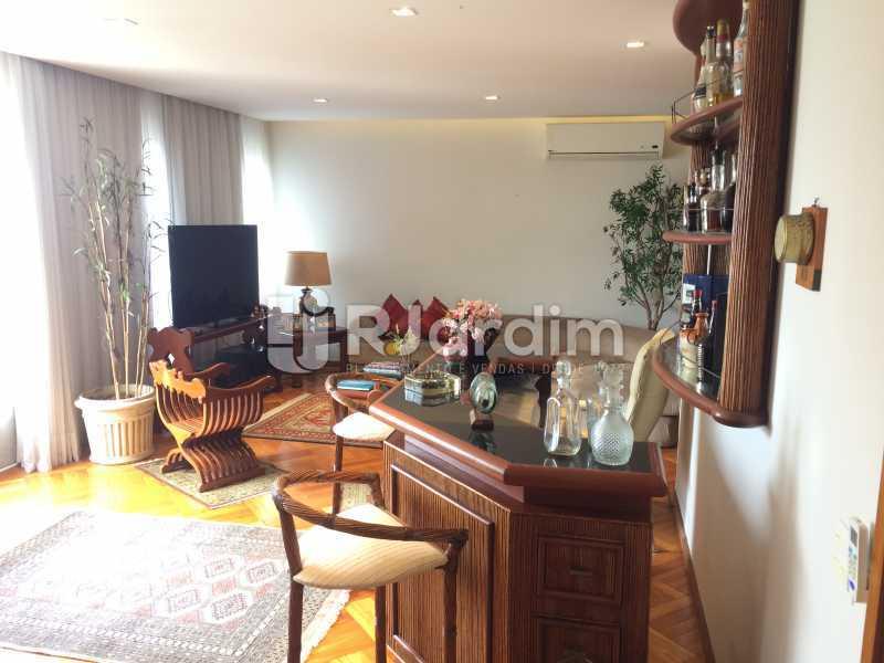 Sala de estar - Apartamento Leblon 3 Quartos Aluguel - LAAP32339 - 4