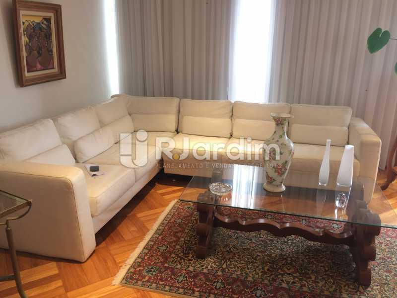 Sala de estar - Apartamento Leblon 3 Quartos Aluguel - LAAP32339 - 5
