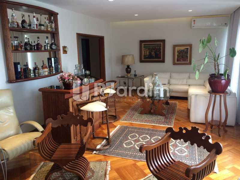 Sala de estar - Apartamento Leblon 3 Quartos Aluguel - LAAP32339 - 8