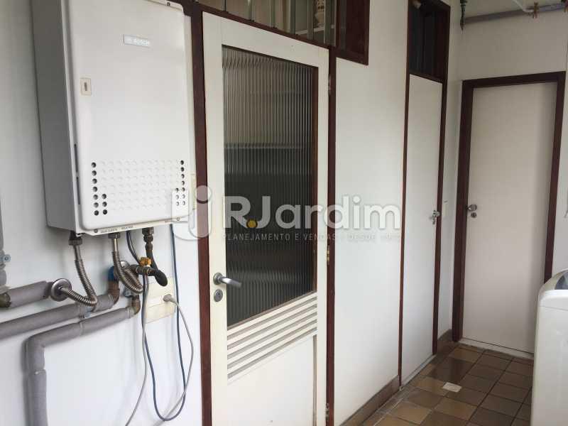 Área de serviço - Apartamento Leblon 3 Quartos Aluguel - LAAP32339 - 30