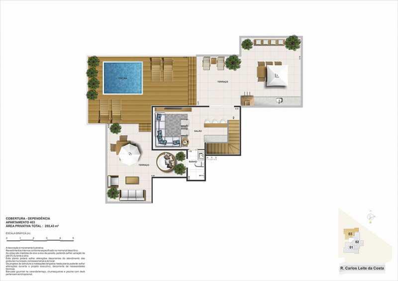 biancovita-construtoravitale-b - Apartamento Barra da Tijuca, Zona Oeste - Barra e Adjacentes,Rio de Janeiro, RJ À Venda, 3 Quartos, 130m² - LAAP32347 - 13