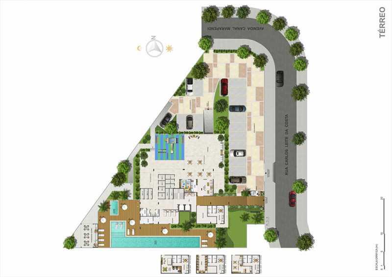 biancovita-construtoravitale-b - Apartamento Barra da Tijuca, Zona Oeste - Barra e Adjacentes,Rio de Janeiro, RJ À Venda, 3 Quartos, 130m² - LAAP32347 - 14