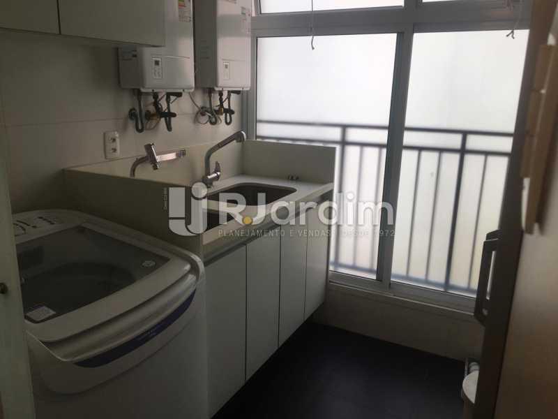 Área de Serviço - Apartamento Leblon 4 Quartos Aluguel - LAAP40852 - 19