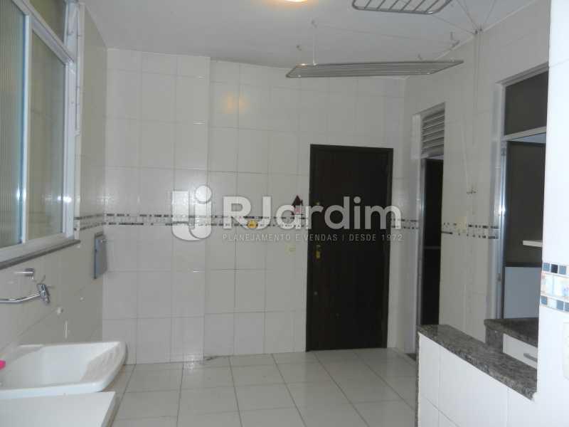 área - Apartamento Copacabana 3 Quartos Aluguel Administração Imóveis - LAAP32367 - 23