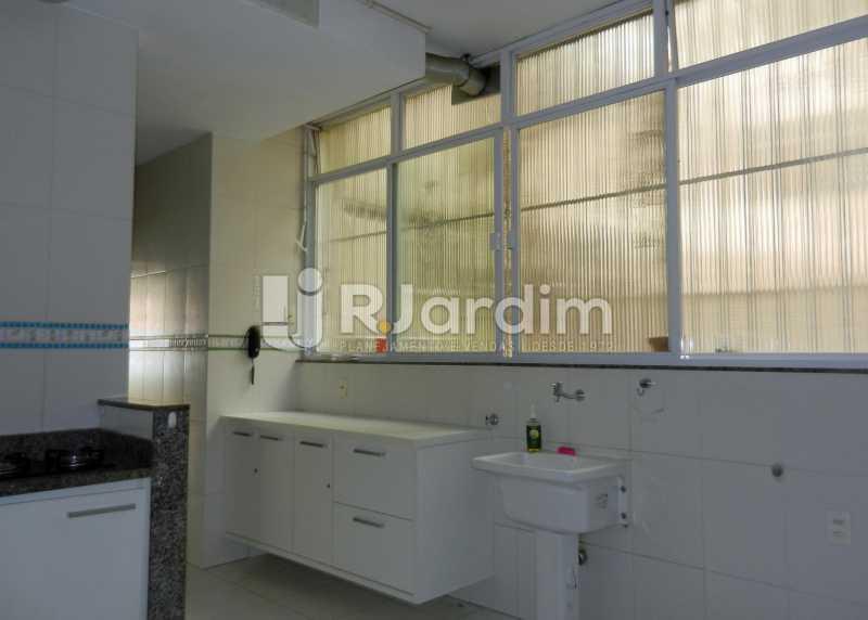 área - Apartamento Copacabana 3 Quartos Aluguel Administração Imóveis - LAAP32367 - 26