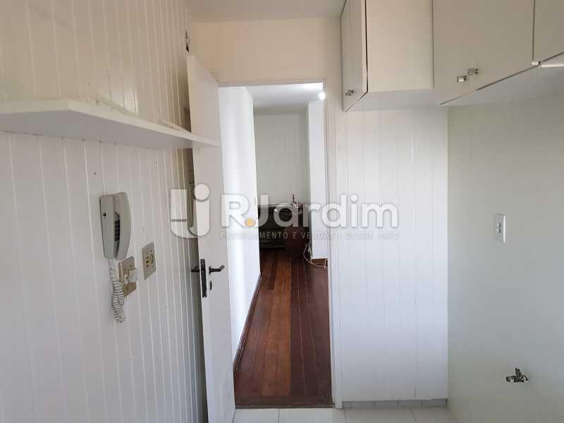 Cozinha - Apartamento Avenida Lúcio Costa,Barra da Tijuca, Zona Oeste - Barra e Adjacentes,Rio de Janeiro, RJ À Venda, 1 Quarto, 72m² - LAAP10426 - 10