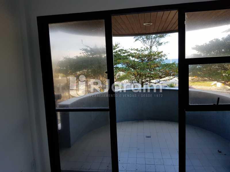 varanda - Apartamento Avenida Lúcio Costa,Barra da Tijuca, Zona Oeste - Barra e Adjacentes,Rio de Janeiro, RJ À Venda, 1 Quarto, 72m² - LAAP10426 - 11