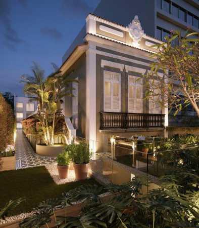 17_fachada_ed_antigo_noturna_r - Apartamento Jardim Botânico, Zona Sul,Rio de Janeiro, RJ À Venda, 1 Quarto, 34m² - LAAP10428 - 5