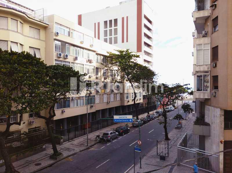 vista da sala - Apartamento para alugar Avenida Rainha Elizabeth da Bélgica,Copacabana, Zona Sul,Rio de Janeiro - R$ 3.400 - LAAP32388 - 6