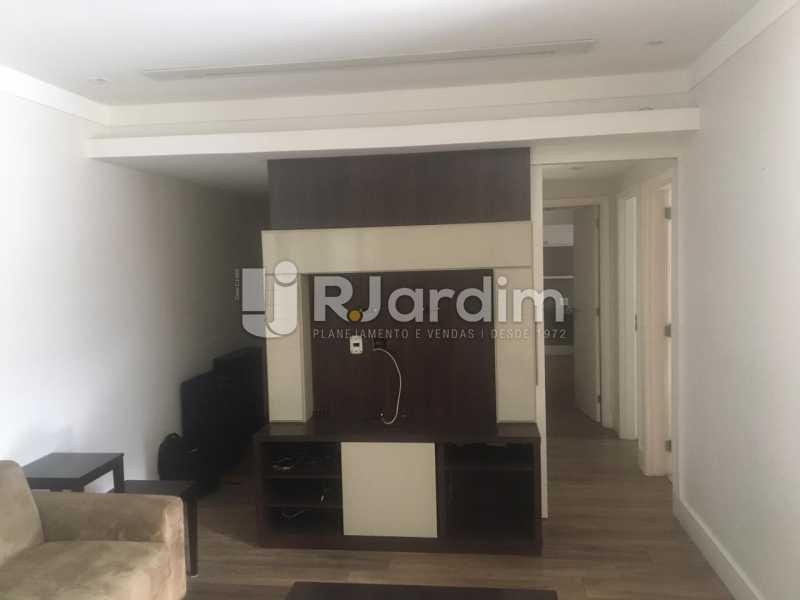 Salão - Apartamento para alugar Rua Leite Leal,Laranjeiras, Zona Sul,Rio de Janeiro - R$ 4.800 - LAAP32389 - 4