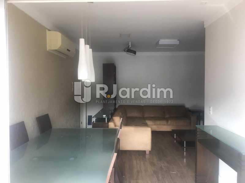 Salão - Apartamento para alugar Rua Leite Leal,Laranjeiras, Zona Sul,Rio de Janeiro - R$ 4.800 - LAAP32389 - 5