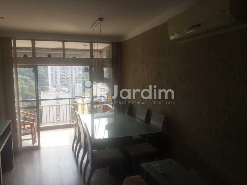 Salão - Apartamento para alugar Rua Leite Leal,Laranjeiras, Zona Sul,Rio de Janeiro - R$ 4.800 - LAAP32389 - 6