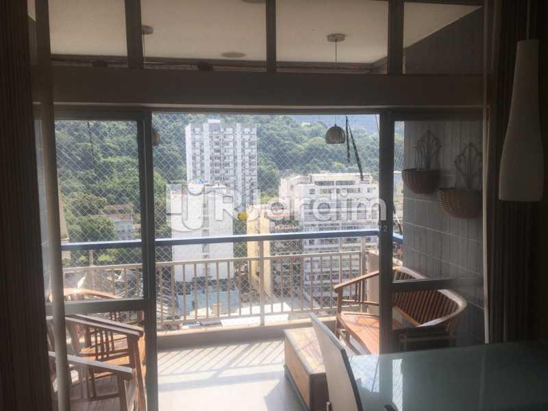 Salão - Apartamento para alugar Rua Leite Leal,Laranjeiras, Zona Sul,Rio de Janeiro - R$ 4.800 - LAAP32389 - 3