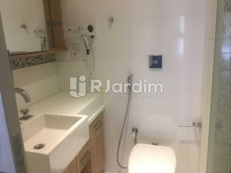 Banheiro Social - Apartamento para alugar Rua Leite Leal,Laranjeiras, Zona Sul,Rio de Janeiro - R$ 4.800 - LAAP32389 - 8