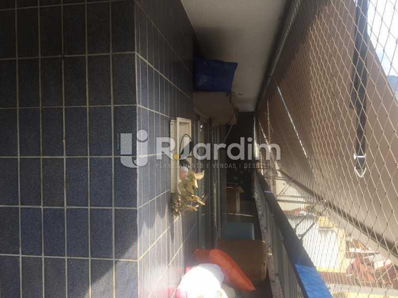Varandão - Apartamento para alugar Rua Leite Leal,Laranjeiras, Zona Sul,Rio de Janeiro - R$ 4.800 - LAAP32389 - 7