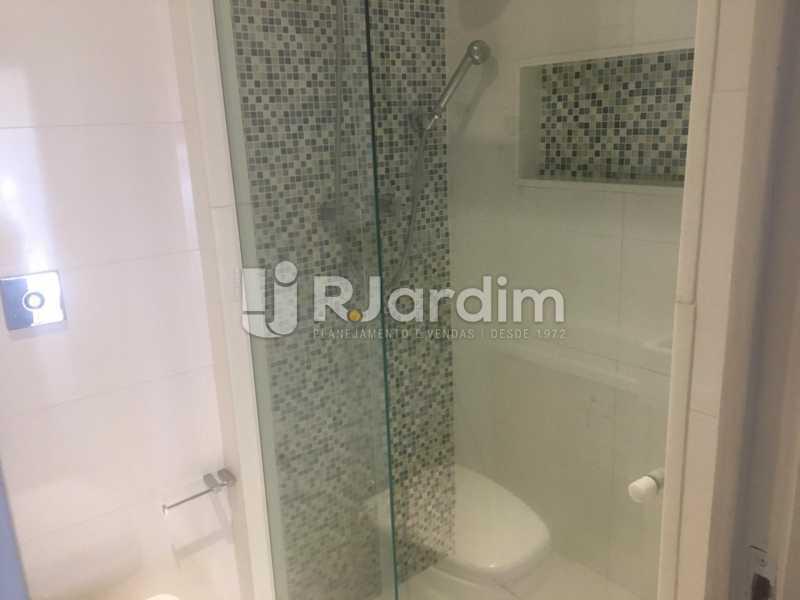 Banheiro Social - Apartamento para alugar Rua Leite Leal,Laranjeiras, Zona Sul,Rio de Janeiro - R$ 4.800 - LAAP32389 - 9