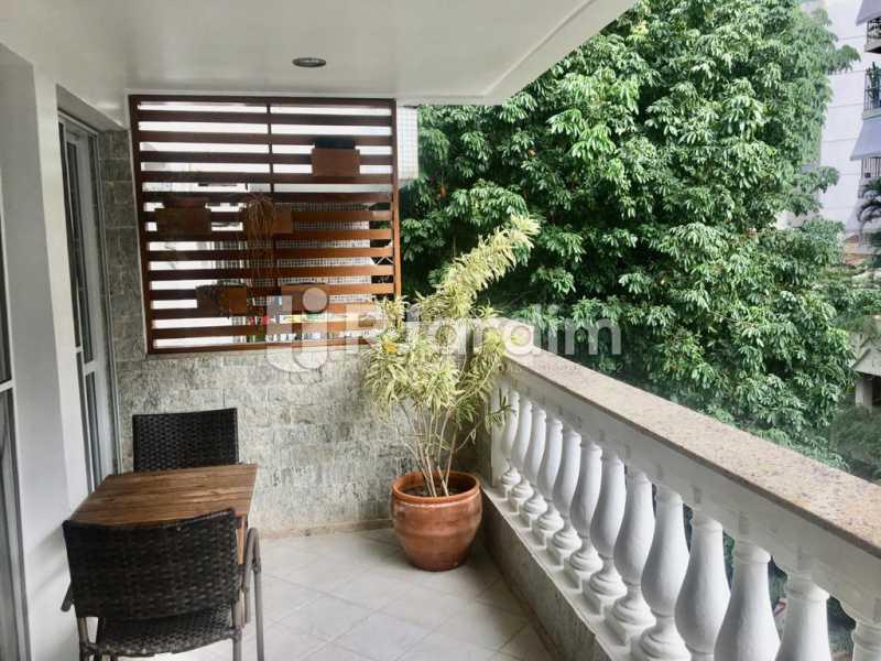 WhatsApp Image 2020-06-05 at 1 - Apartamento para alugar Rua Desembargador Burle,Humaitá, Zona Sul,Rio de Janeiro - R$ 3.000 - LAAP32391 - 1