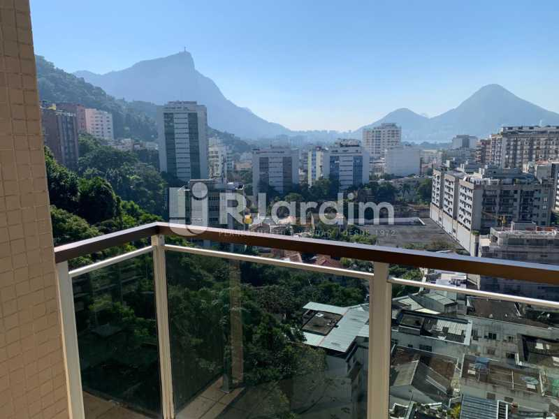 Varanda - Apartamento à venda Rua Marquês de São Vicente,Gávea, Zona Sul,Rio de Janeiro - R$ 1.150.000 - LAAP10430 - 1