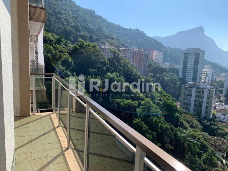 sala vista livre - Apartamento à venda Rua Marquês de São Vicente,Gávea, Zona Sul,Rio de Janeiro - R$ 1.150.000 - LAAP10430 - 3