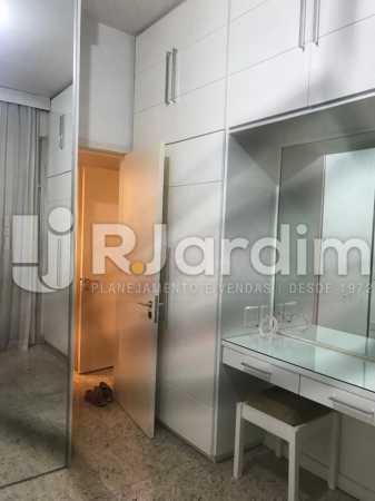 Quarto - Apartamento à venda Rua Marquês de São Vicente,Gávea, Zona Sul,Rio de Janeiro - R$ 1.150.000 - LAAP10430 - 7