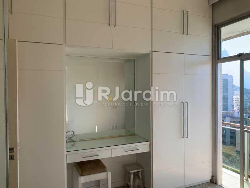 Quarto - Apartamento à venda Rua Marquês de São Vicente,Gávea, Zona Sul,Rio de Janeiro - R$ 1.150.000 - LAAP10430 - 8