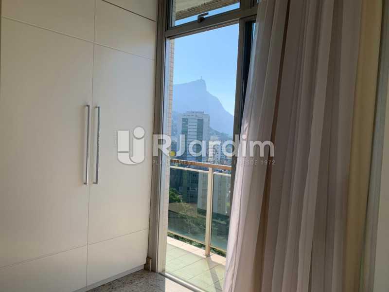 Quarto com armários - Apartamento à venda Rua Marquês de São Vicente,Gávea, Zona Sul,Rio de Janeiro - R$ 1.150.000 - LAAP10430 - 11