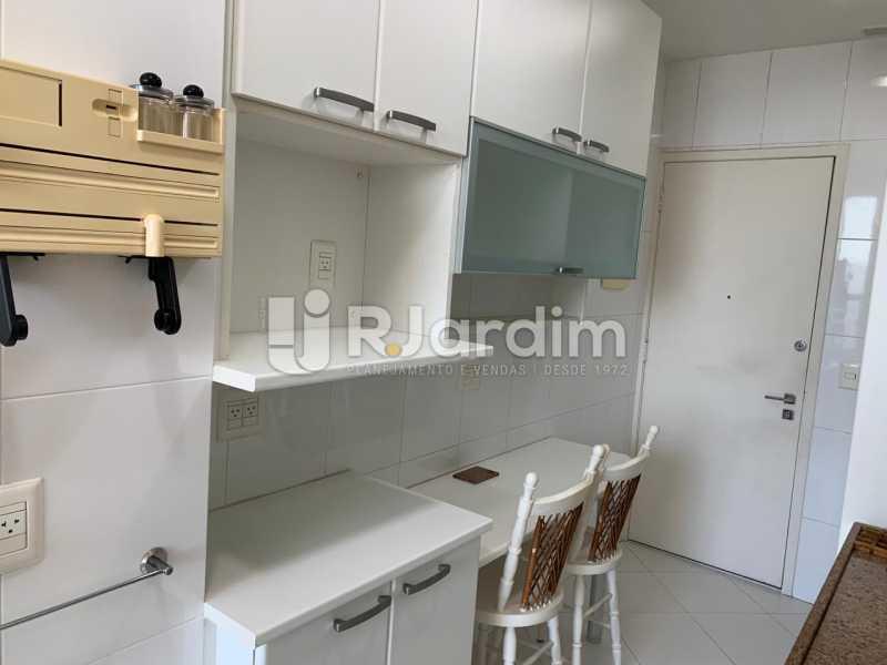 Cozinha - Apartamento à venda Rua Marquês de São Vicente,Gávea, Zona Sul,Rio de Janeiro - R$ 1.150.000 - LAAP10430 - 16