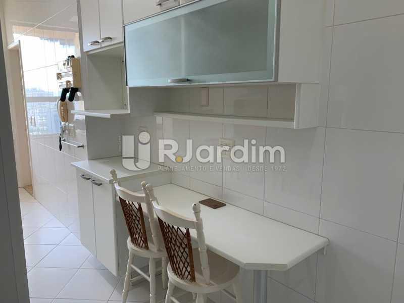 Cozinha - Apartamento à venda Rua Marquês de São Vicente,Gávea, Zona Sul,Rio de Janeiro - R$ 1.150.000 - LAAP10430 - 17
